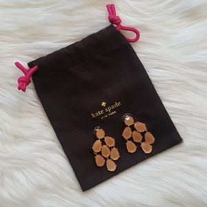 Kate Spade Peach Earrings!